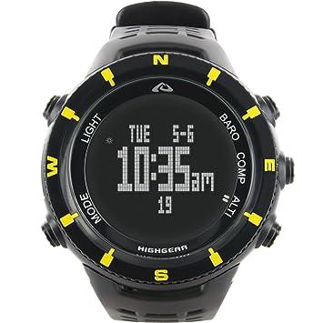 Highgear Alti-Xt Altímetro exhibición del reloj negativo, un tamaño: Amazon.es: Deportes y aire libre