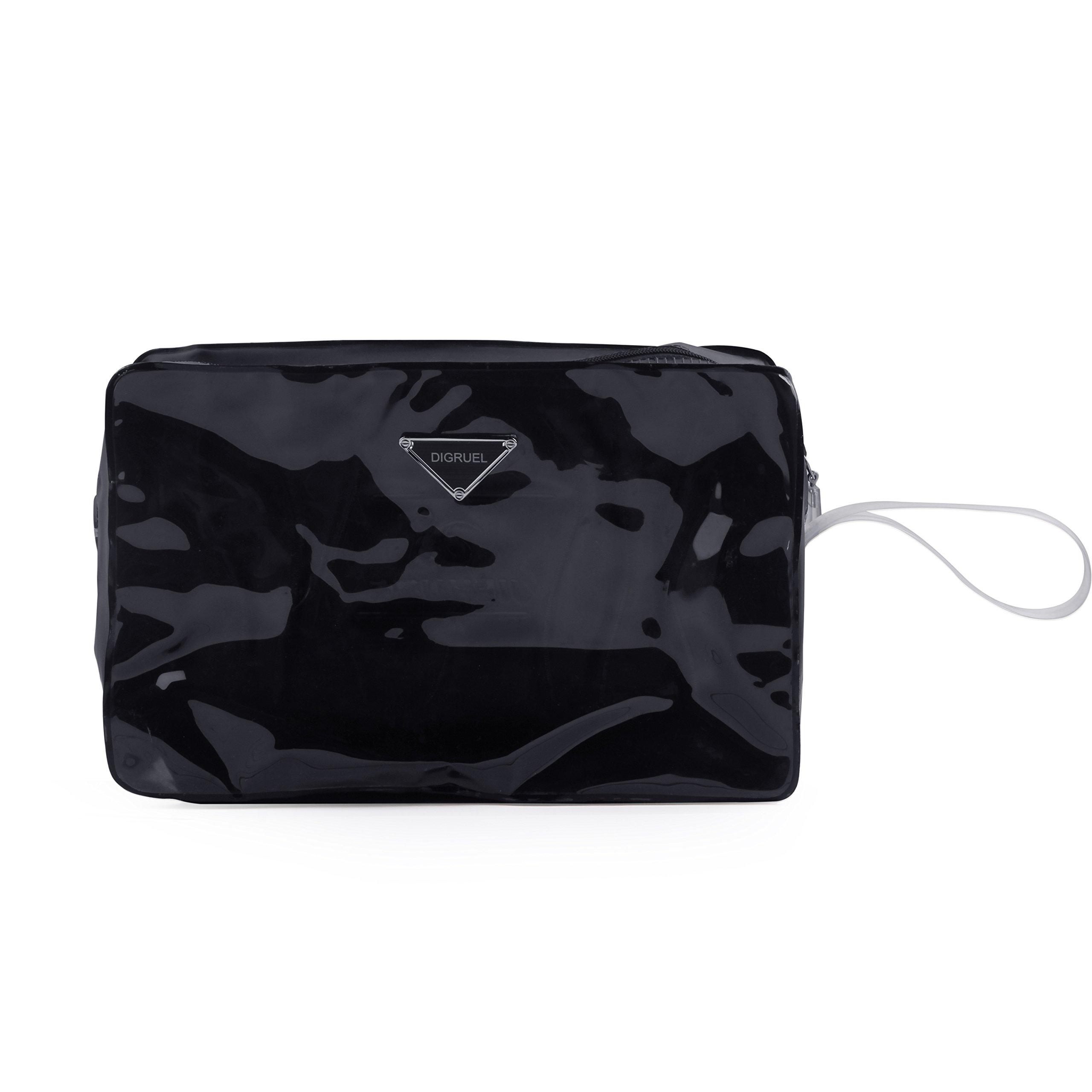 Digruel Women Valid Cases Cosmetic Bag Black