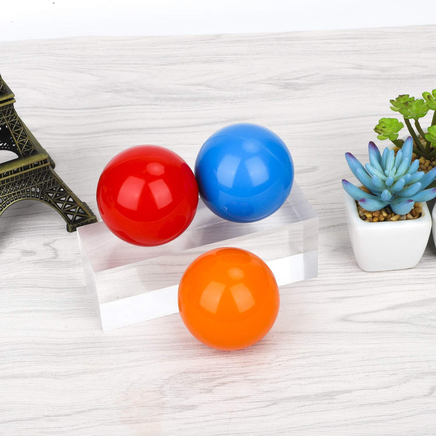 YuXing Professional Juggling Ball Set, for Beginners&Professionals, 2.6'', Set of 3 (Red Blue Orange) by YuXing TOY (Image #6)