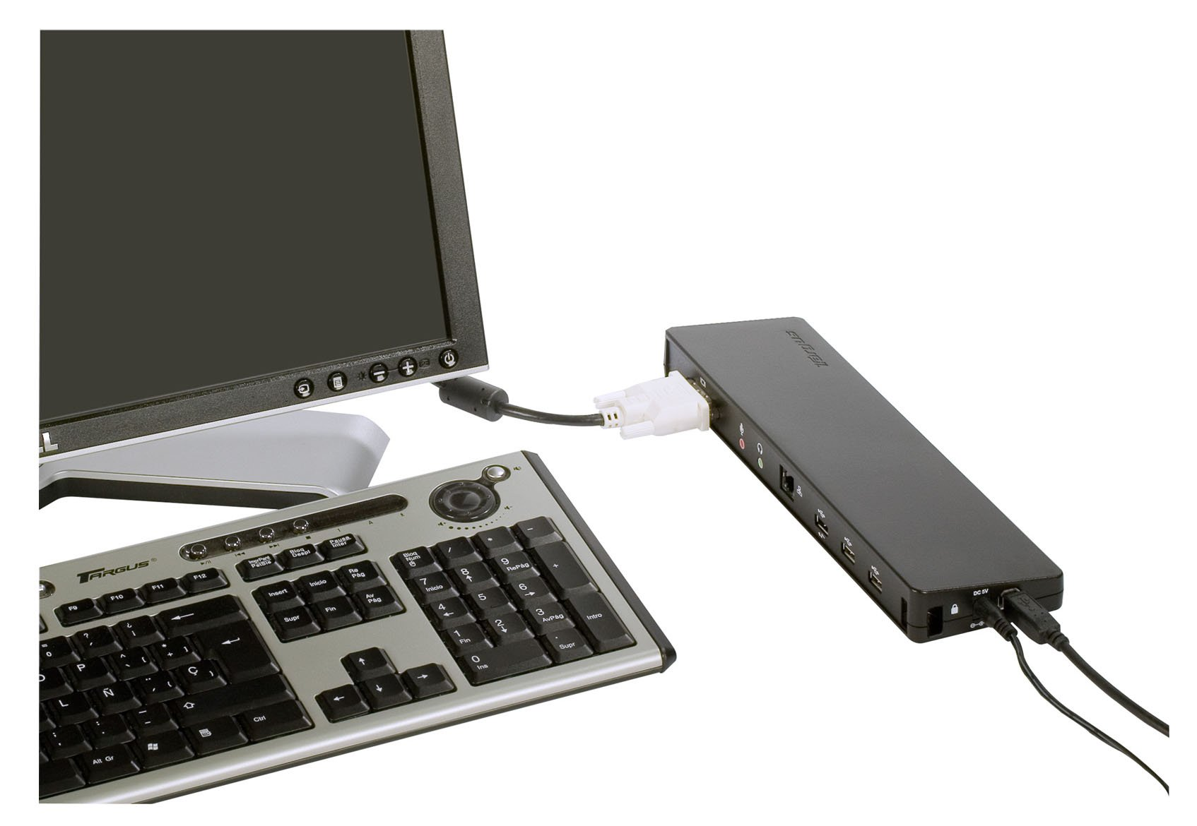 Targus  ACP51USZ USB 2.0 Docking Station with Video by Targus