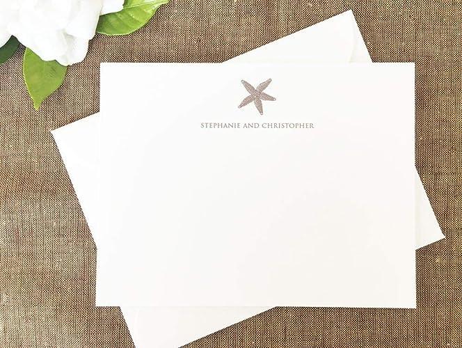amazon com starfish thank you notes starfish stationary starfish