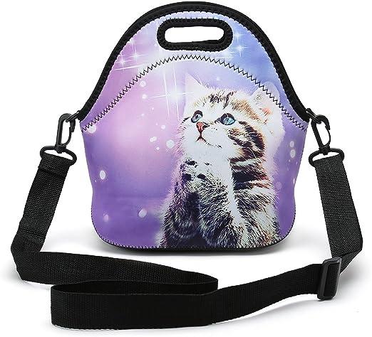 /la mejor bolsa de viaje Neopreno almuerzo Tote/ /elefante caja de almuerzo reutilizable impermeable para hombres mujeres adultos ni/ños TODDLER enfermeras con correa ajustable para el hombro/