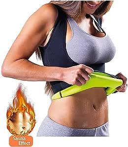 Cimkiz Chaleco de Neopreno para Entrenamiento de Cintura, para pérdida de Peso, Control de Barriga, Adelgazamiento, Chaleco para Sauna, Fajas para Mujer (Large)