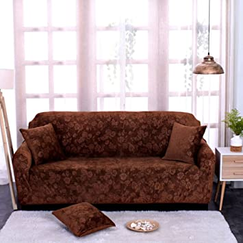 Kfhiwuehpjhd Elastic Anti Slip Slipcover Sofa Covers For Leather