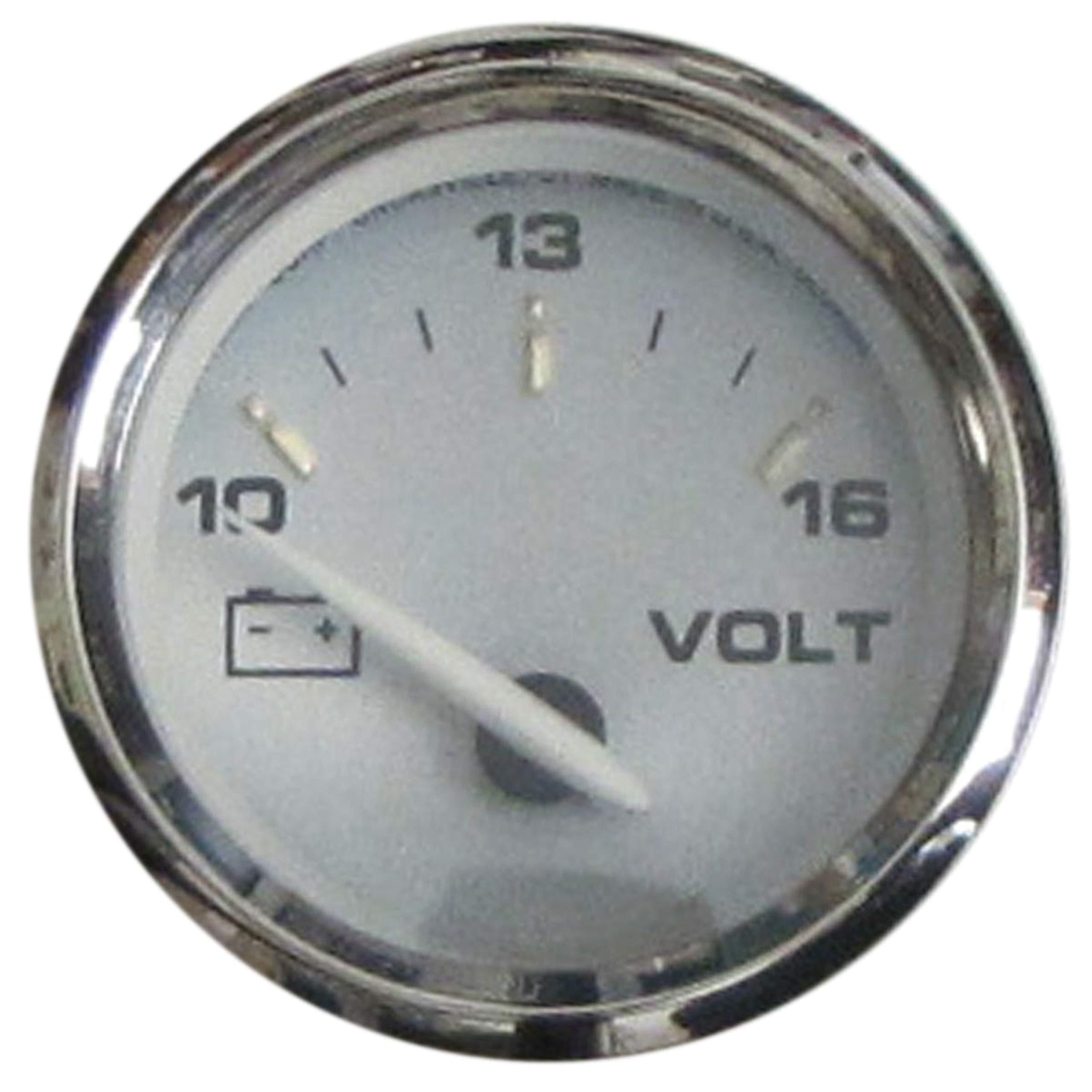 Faria Beige 19004 Kronos Voltmeter 10-16Vdc by Faria