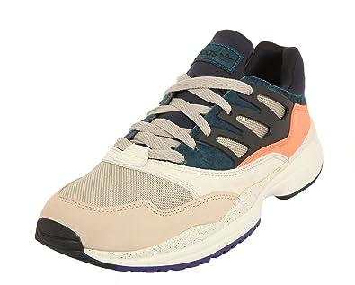 adidas Herren Sneakers TORSION ALLEGRA X Grau/Navy/Orange Q20349