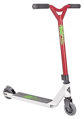 Grit Atom Pro Stunt Scooter - Varios Colores (Blanco / Rojo ...
