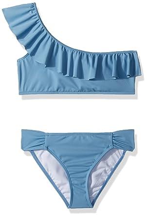 7580cb5f97cb6 Amazon.com: Billabong Girls' Sol Searcher One Shoulder Two Piece Swimsuit  Set: Clothing