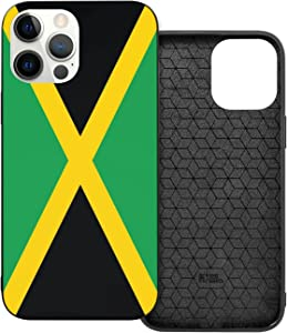 Jamaica Jamaican Flag Shockproof iPhone 12 Case Lightweight Slim Apple iPhone Cover Compatible for IP 12 and IP 12 Pro Max