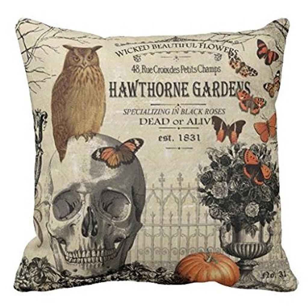 10 Halloween Pillows Under $10| Halloween Pillows, DIY Pillows for Halloween, Cheap Halloween Decor, DIY Halloween Decor, Halloween Home Decor, Inexpensive Pillows, Pillow Cover Projects, Popular Pin