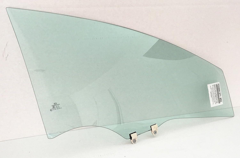 NAGD Compatible with 2006-2011 Honda Civic 4 Door Sedan Passenger Side Right Rear Door Window Glass