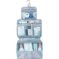 Travel Hanging Toiletry Wash Bag Makeup Cosmetic Organizer for Women Girls Kids Waterproof