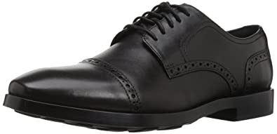 Cole Haan Men's Jefferson Grand Cap OX II Oxford, Black, 7 Medium US