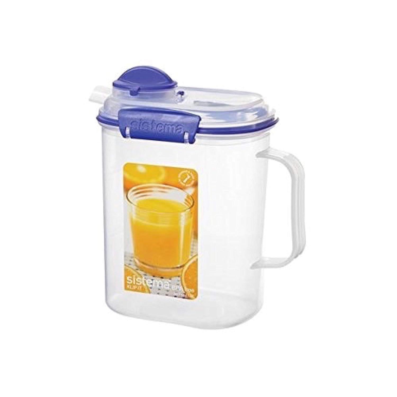 Sistema Klip It Collection Juice Jug, 50 Ounce/ 6.34 Cup 1415