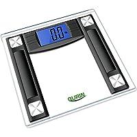 "Gurin High Accuracy Digital Bathroom Scale with 4.3"" Display and Step-On Technology"