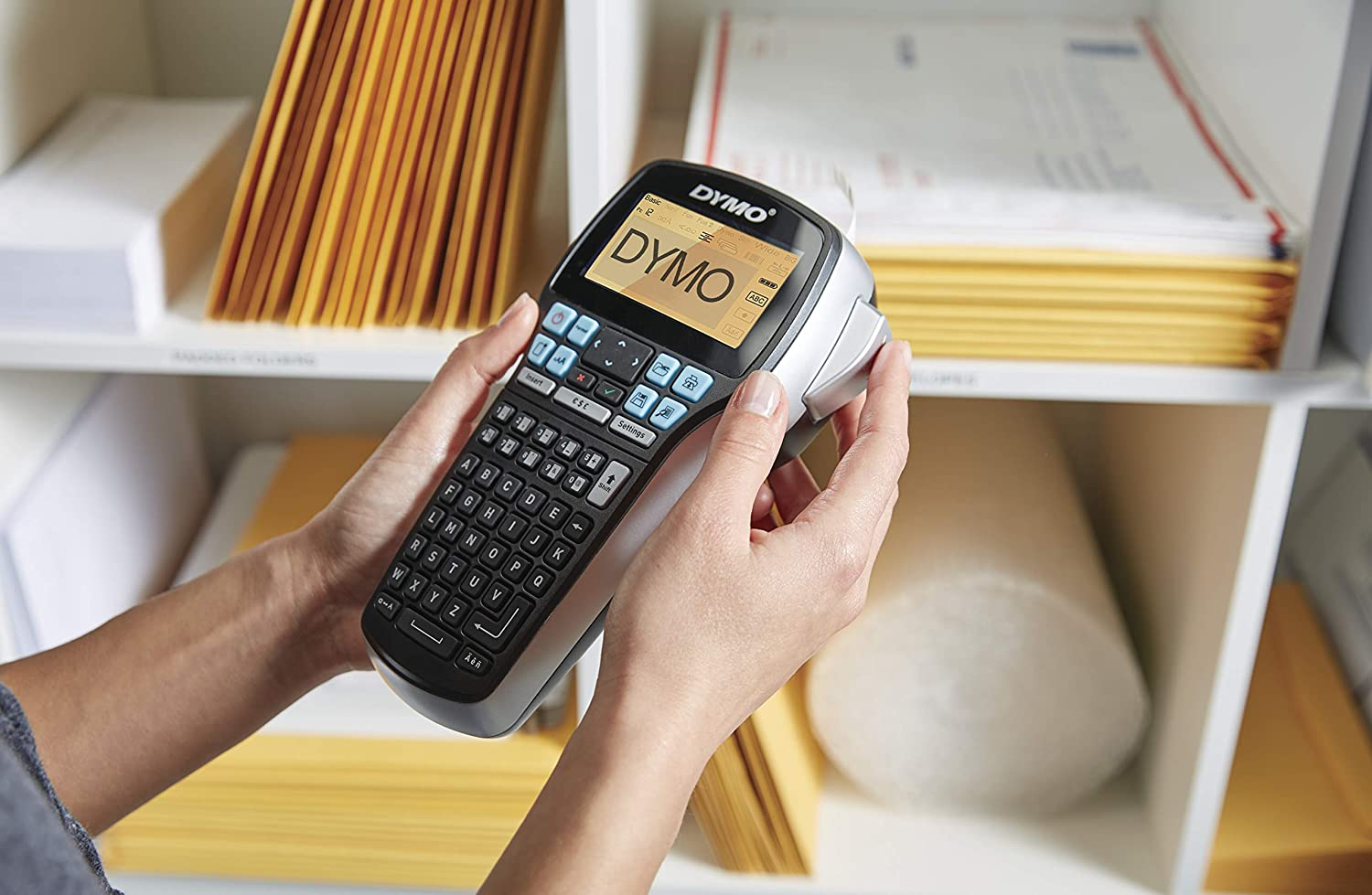 DYMO LabelManager 420P High Performance Rechargeable Portable Label Maker with PC or Mac Connection 1768815