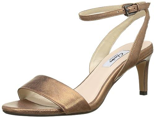 2070c4af3cf Clarks Women s Amali Jewel Heels Sandals Bronze