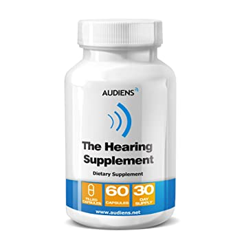 Audiens Hearing Loss Relief for Inner Ear Balance - Natural Supplements for  Sensorineural Hearing Loss |