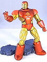 "Marvel Legends IRON MAN (Neo Classic armor) 6"" inch review (Hasbro) epic heroes action figure toy"