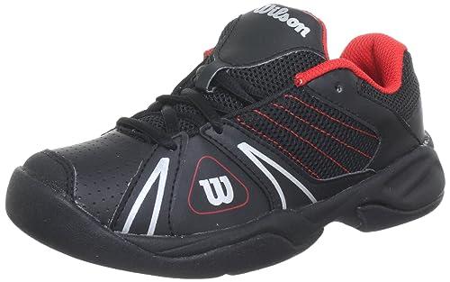 Da Wilson J BambiniNeroblack JuniorScarpe Tennis Open Unisex WD29EHI