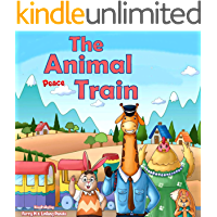 """""""THE ANIMAL PEACE TRAIN """": Book for kids about Tolerance (bedtime picture book for kids 1)"""