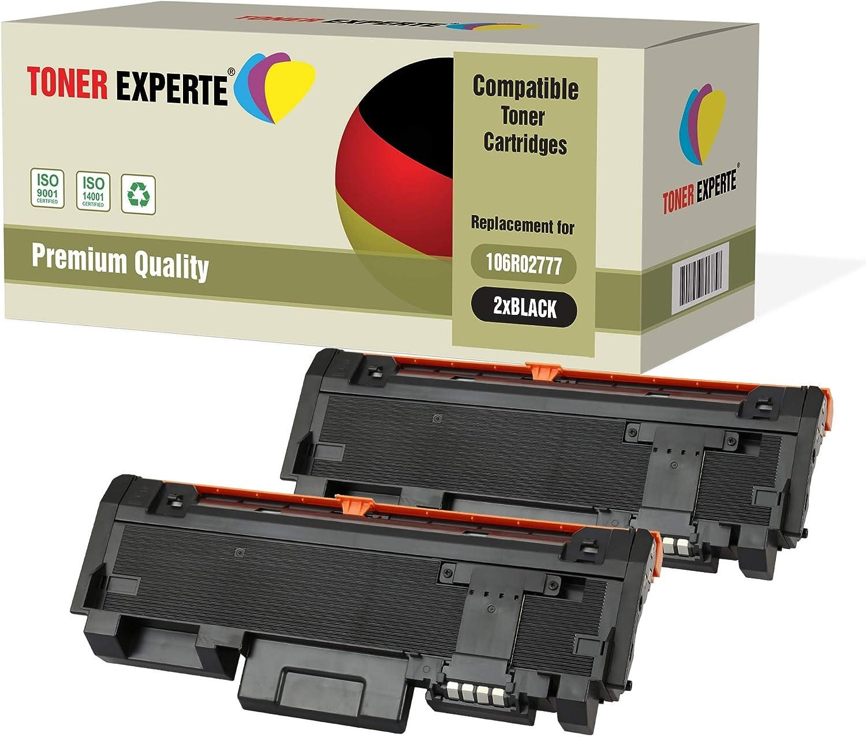 WorkCentre 3225 106R02777 CAPACITA 3.000 PAGINE PACK 2 TONER 3260 NERO COMPATIBILE PER XEROX Phaser 3260