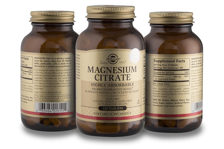 Amazon.com: Solgar Selenium with Magnesium Citrate and Zinc ...