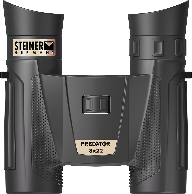 Steiner Optics Predator Series - Prismáticos Resistentes al Agua y a Prueba de Niebla para Caza y Tiro