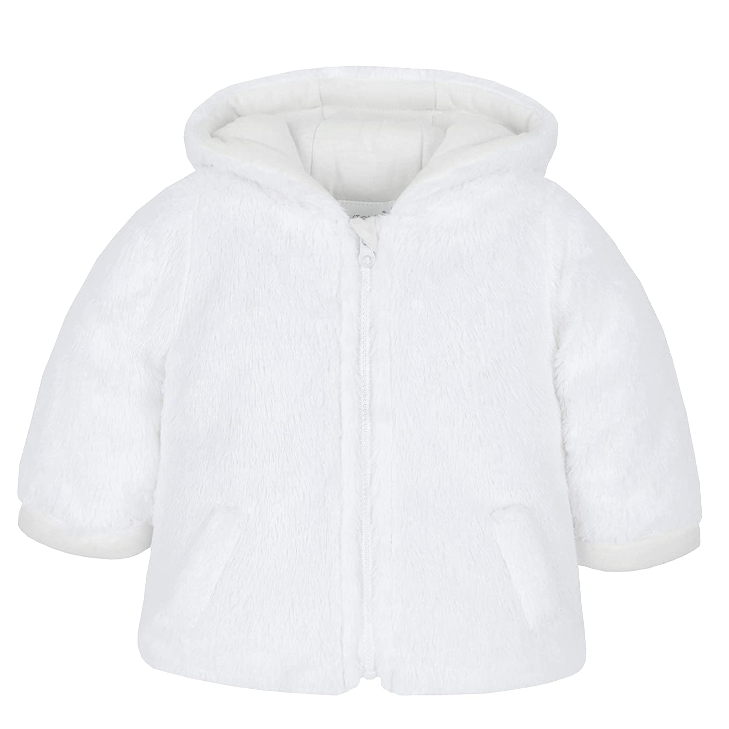 Babies Soft Feel Hooded Winter Snuggle Coat