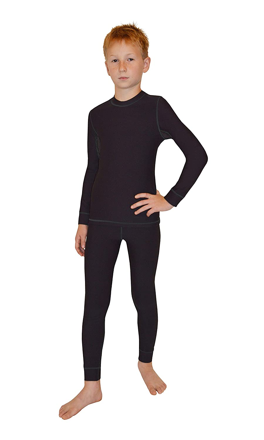 gWINNER children Thermal-technical Underwear Skiunderwear - Set - Warmline-Silverplus