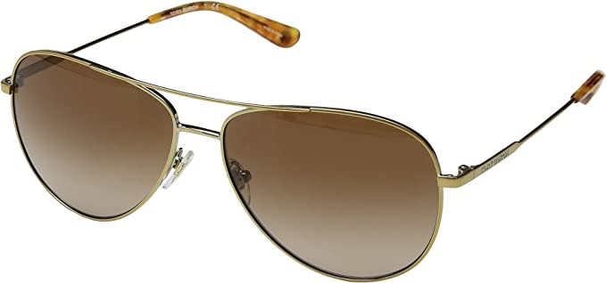 079db1e9fe827 Amazon.com  Tory Burch Women s 0TY6063 59mm Gold Brown Gradient One ...