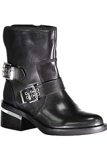 12f4b161ccc1c Guess Bottines à Clous Holde Noir  Amazon.fr  Chaussures et Sacs