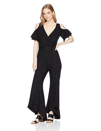 6319c3e5682a Amazon.com  Jack by BB Dakota Women s Sade Woven Twill Jumpsuit  Clothing