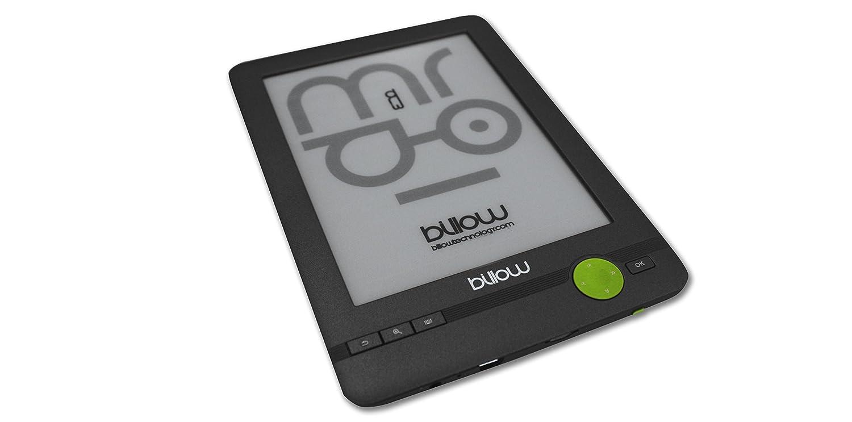 Billow Technology E03FL - Libro electrónico, Gris/Verde: Billow ...