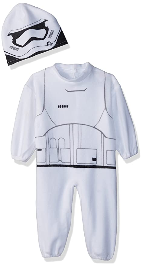 Rubies Costume Boys Star Wars VII: The Force Awakens Stormtrooper Costume, Multicolor, ...