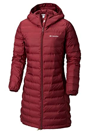 a7a5c7f9f7ee8 Amazon.com: Columbia Women's McKay Lake Long Down Hooded Winter Jacket Deep  Wine: Clothing