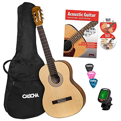 CASCHA Student Series 4/4 - Guitarra clásica: Amazon.es ...