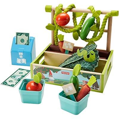 Fisher-Price Farm-to-Market Stand: Toys & Games