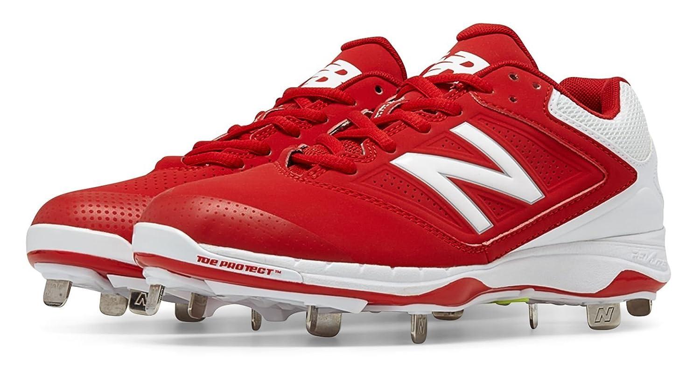 (ニューバランス) New Balance 靴シューズ レディースソフトボール Low Cut 4040v1 Metal Cleat Red with White レッド ホワイト US 11 (28cm) B014I8R9H6