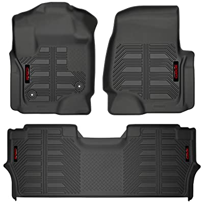 Gator 79613 Black Front Floor Liners Fits 2020-20 Ford F-250/F-350 Crew: Automotive