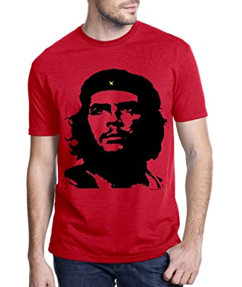 Amazon.com: Che Guevara Store Men's Red Tshirt Classic Alberto ...