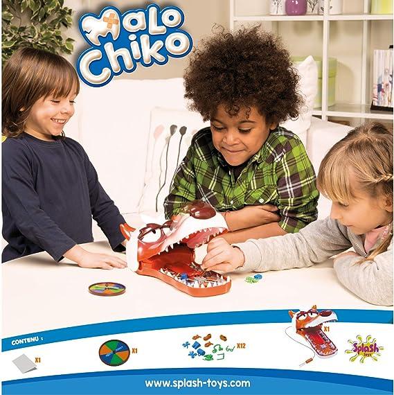 Splash Toys - 30109 - Jeu Daction Et De Réflexe - Malo Chiko: Amazon.es: Juguetes y juegos