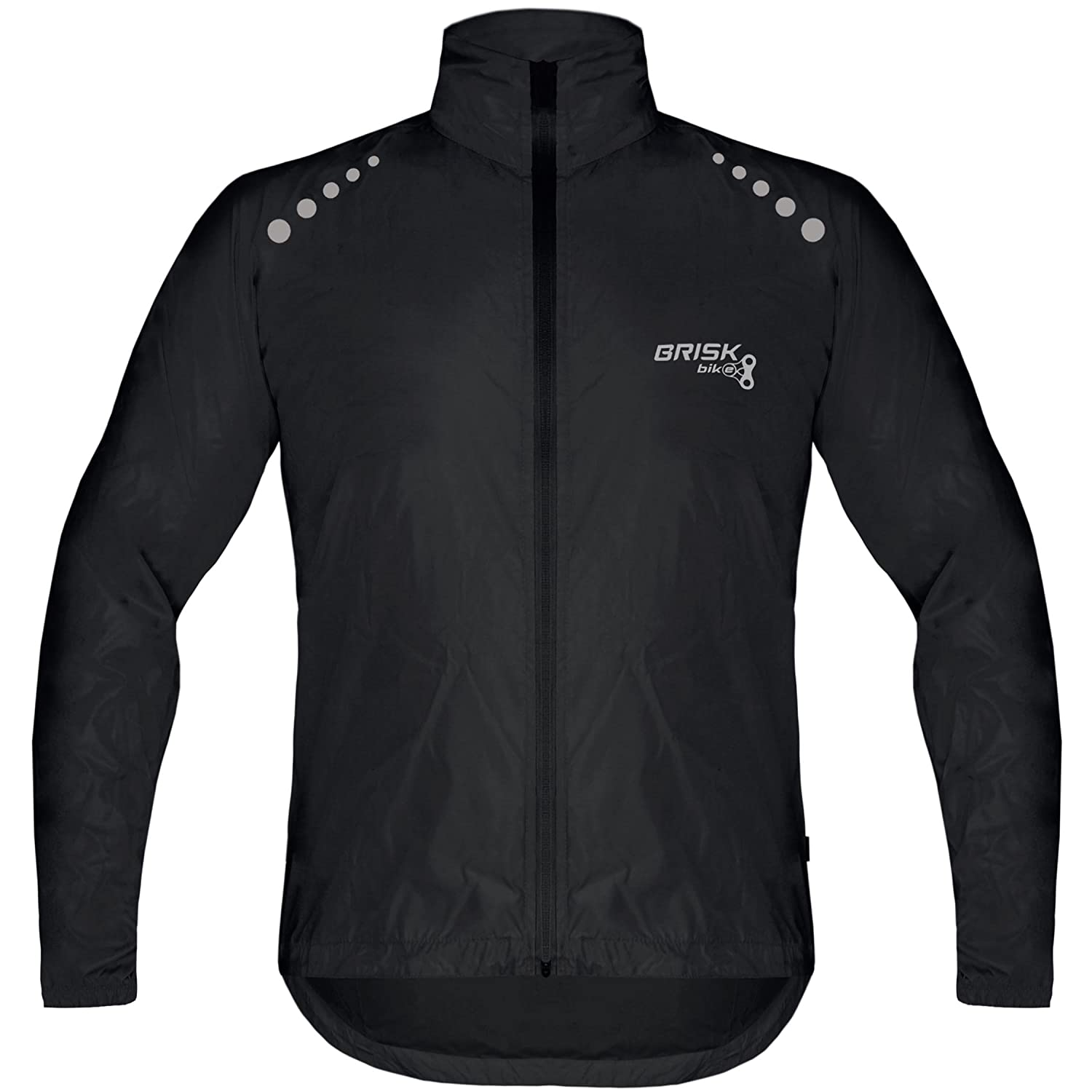 Brisk Bike Ultra-Light Weight Rain Jacket for Cycling: Amazon.es: Deportes y aire libre