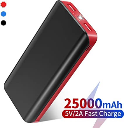 FKANT Power Bank 25000mAh Caricabatterie Portatile Alta