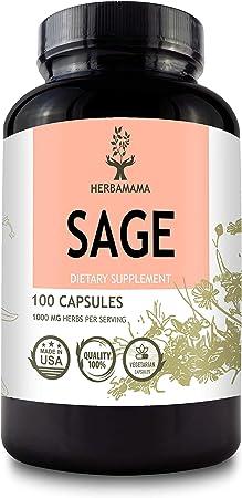 HERBAMAMA Store Sage Capsules
