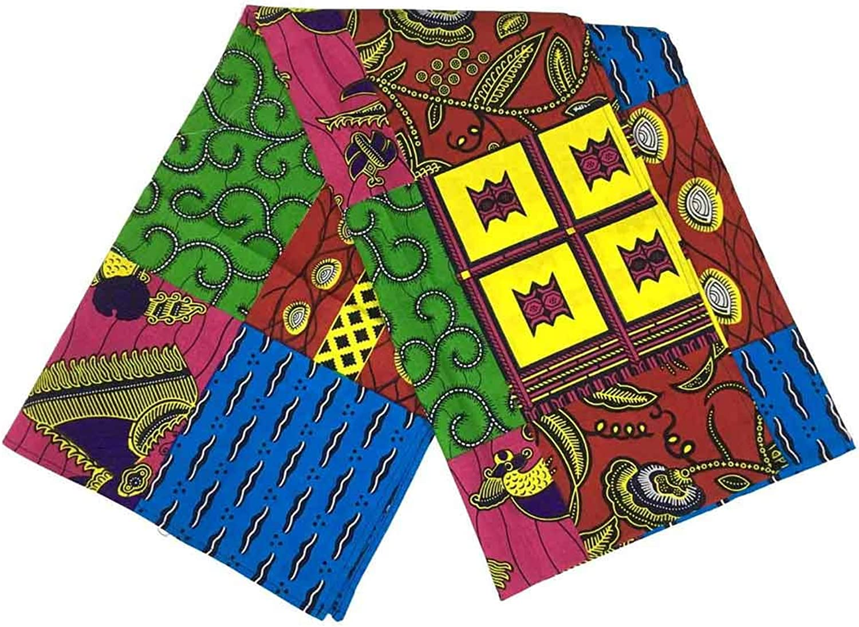 African Wax Head Wrap Print...