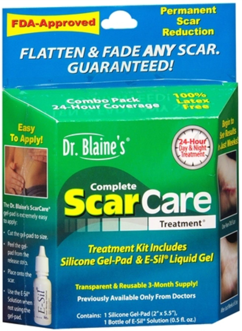 Dr. Blaine's Complete Scar Care Treatment 1 Each (Pack of 7) by Dr. Blaine's