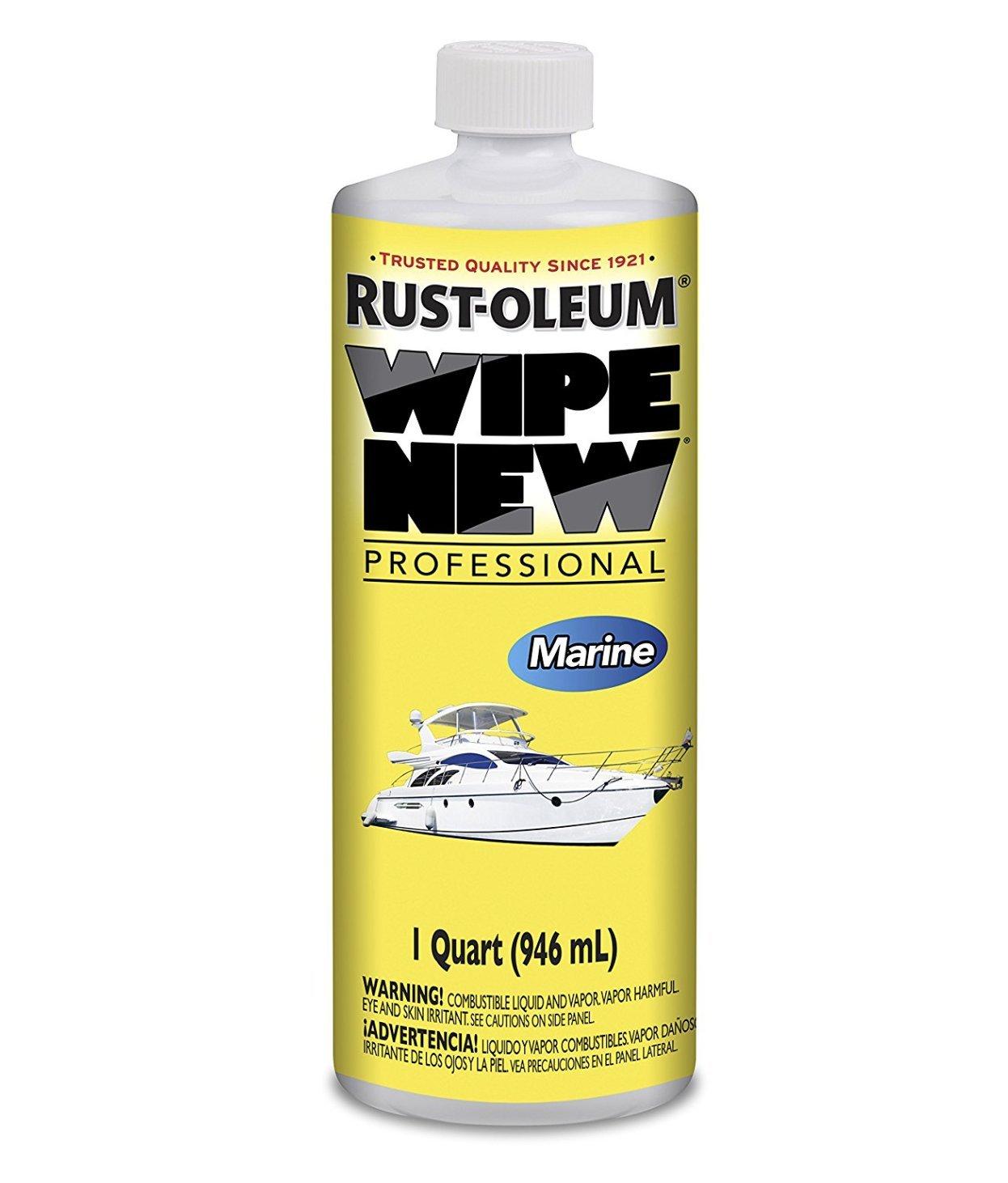 Rust-Oleum WNFLEET32OZ 32 Oz Qt Wipe Professional New Fleet