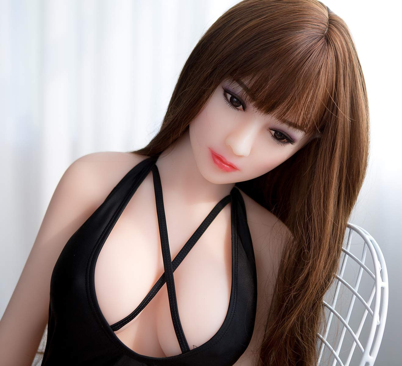 160cm TPE/muñeca silicona, de silicona, TPE/muñeca hombres maduros y mujeres masturbación masaje juguete RS-Love3 muñeca realista abierta 6f9651