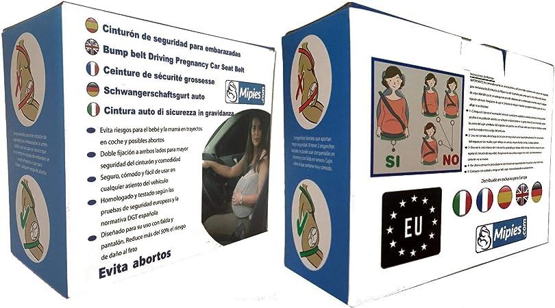 Cinturón para Embarazada de Seguridad en el Coche que protege al ...